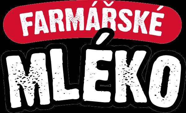 Farmářské mléko - logo